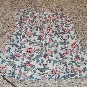 Wet seal Floral tank top